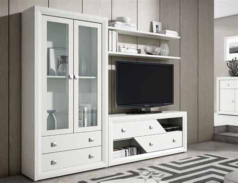 mueble de salon comedor estilo moderno  vitrina color