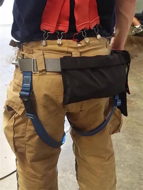 fire harness service gear rescue side carabiner