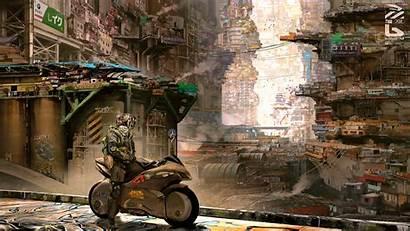 Cyberpunk 4k Science Fiction Cyber Wallpapers Digital
