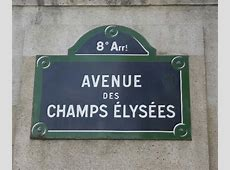The ChampsÉlysées in Paris