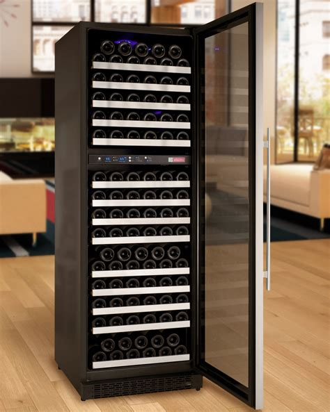 wine cooler in kitchen cabinet allavino vswr172 2ssrn flexcount series 172 bottle dual 1907