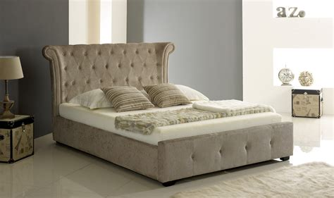 Fabric Storage Bed by Nwm Mink Fabric Ottoman Bed