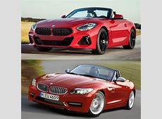 Photo Comparison G29 BMW Z4 vs E89 BMW Z4
