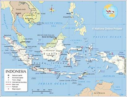 Indonesia Map Political Countries Which Maps Indonesian