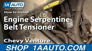 Easy Way Remove Rep Serpentine Belt Ten Youtube Alternater 2002 Chevy Venture Engine Diagram
