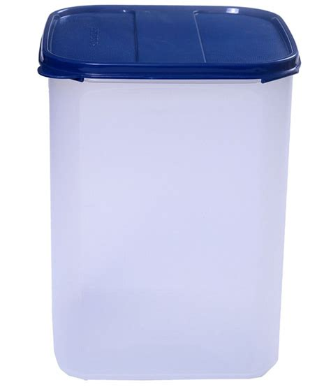 Signoraware Blue & Clear Modular Square Storage Container