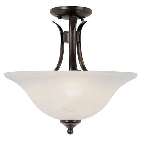 bronze flush ceiling light plc lighting 1 light oil rubbed bronze ceiling semi flush