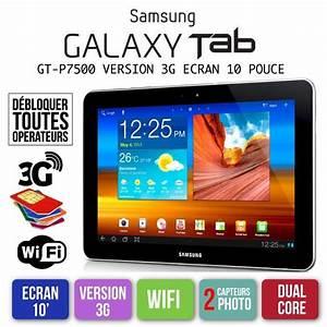 Tablette 15 Pouces : tablette tactile samsung galaxy tab gt p7500 10 pouce wifi ~ Carolinahurricanesstore.com Idées de Décoration