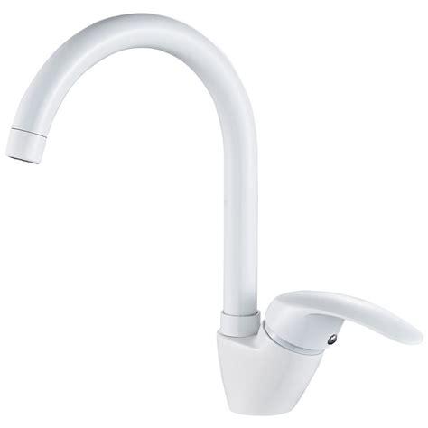 rubinetto bianco sanlingo cucina lavello lavandino miscelatore monocomando