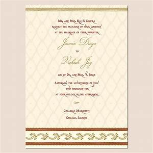 Indian wedding invitation template shaadi for Images of hindu wedding invitations