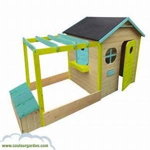 Bac à Sable Castorama : maison de jardin avec pergola bac sable coffre a jouet ~ Dailycaller-alerts.com Idées de Décoration