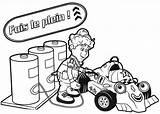 Coloring Racing Roary Gas Tank Filling Race Clipartmag sketch template