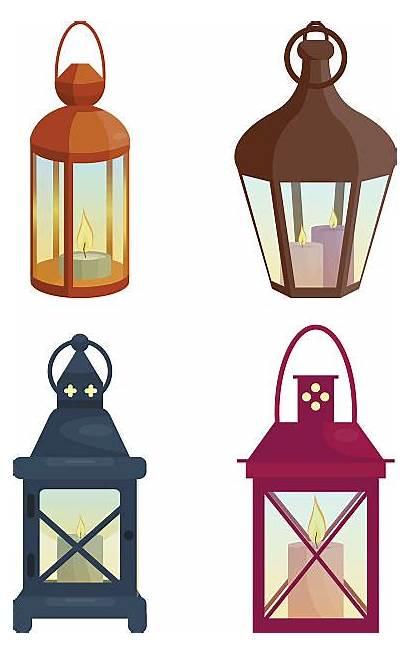 Lantern Lanterns Vector Clip Candle Dinner Illustration