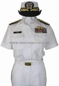 US NAVY FEMALE OFFICER SUMMER WHITE UNIFORM