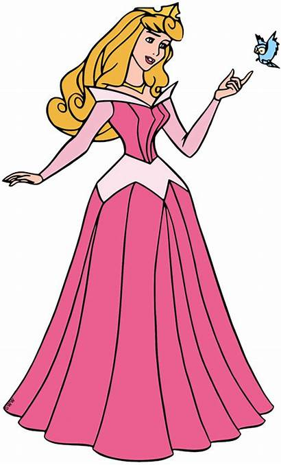 Aurora Princess Disney Clipart Sleeping Beauty Clip