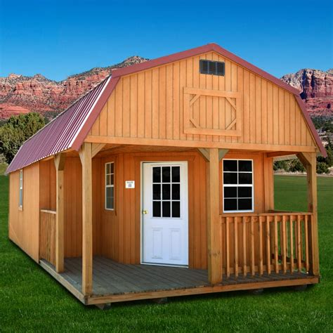 lofted barn cabin for duratemp 174 weather king buildings