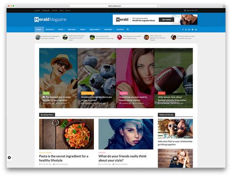 Word Press News Themes Top 50 News Magazine Themes 2019 Colorlib