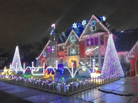 catchy collections of christmas light show nj fabulous