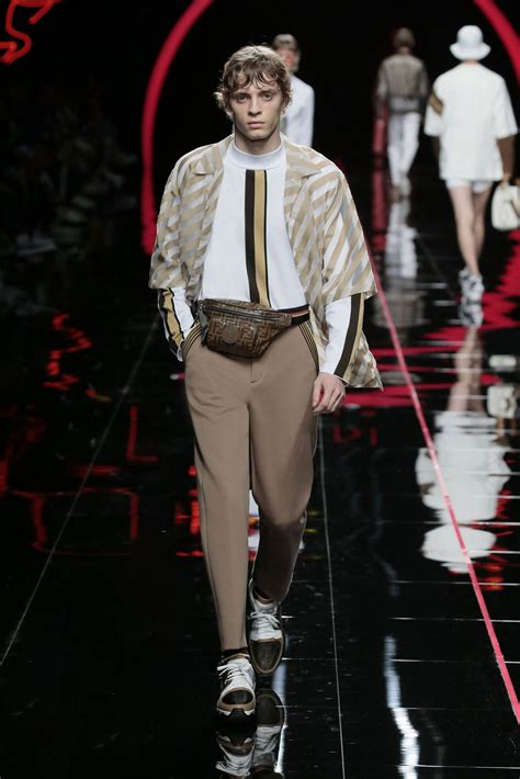Fendi Spring Summer 2019 Men's Collection  The Skinny Beep