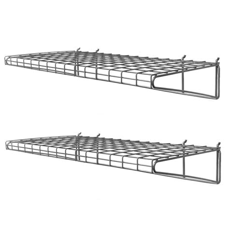 Closetmaid Heavy Duty Shelving by Closetmaid Superslide 72 In W X 12 In D White Ventilated