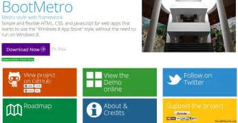 Html Resume Template Free Metro Ui Templates To Create Windows 8 Metro Style Websites