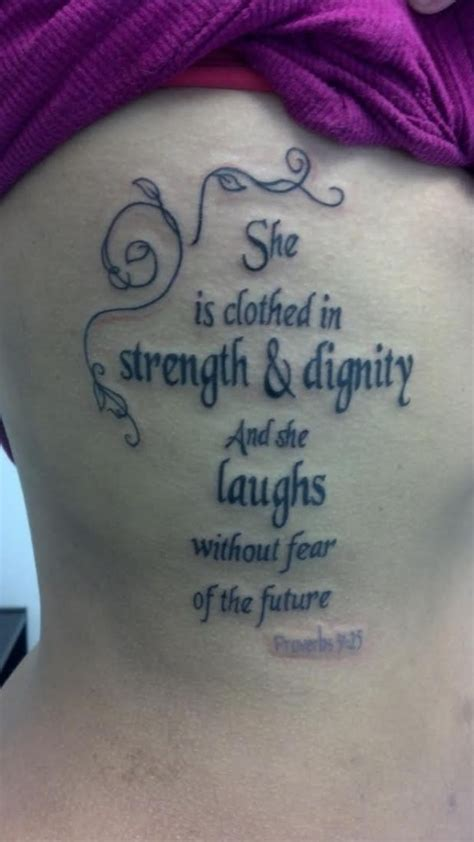 clothed  strength dignity contrariwise