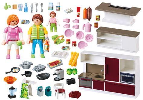 cuisine playmobil 5329 playmobil set 9269 large family kitchen klickypedia