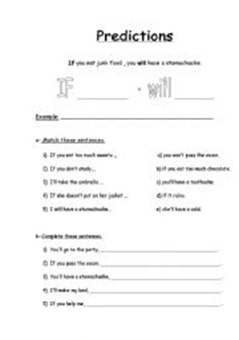 English Teaching Worksheets Making Predictions