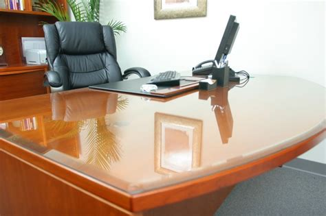 custom glass desk protector 5 tips for glass table tops an intense solution for