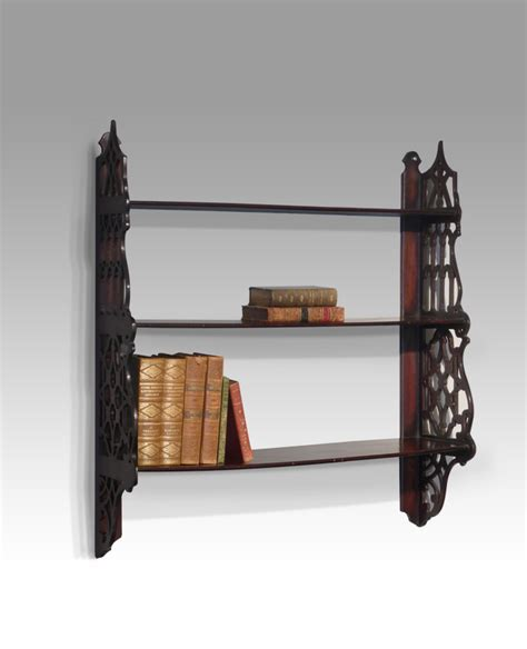 Shelves Uk by Antique Wall Shelves 19th Century Shelves Mahogany Book