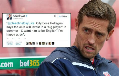 Peter Crouch Meme - stoke city news 12 times peter crouch s twitter banter was absolutely brilliant metro news