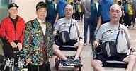 滿頭白髮樣子憔悴 張偉文暴瘦坐輪椅照網上瘋傳 (19:57) - 20201112 - SHOWBIZ - 明報OL網