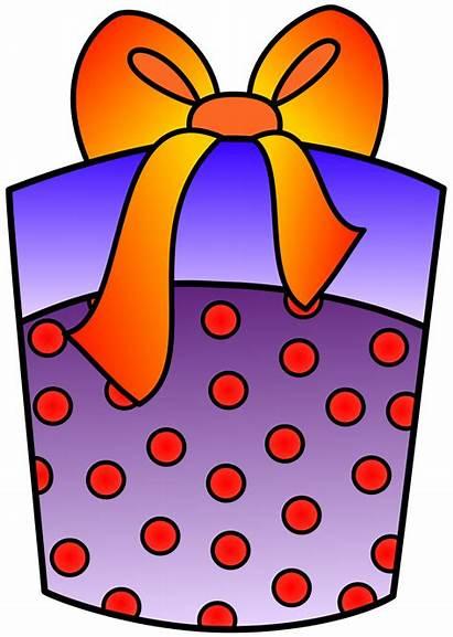 Present Birthday Clipart Clip Gift Presents Christmas