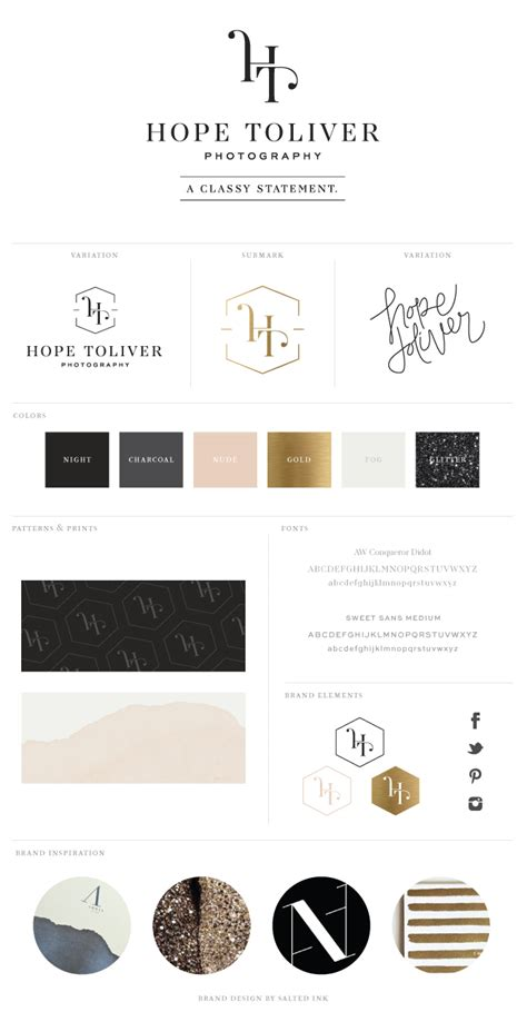 New Brand Launch Hope Toliver Photography  Salted Ink