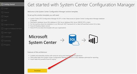 Thingworx Dashboard Template Exles Download by How To Install And Configure Sccm Power Bi Dashboard