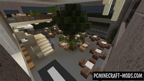 modern restaurant  lounge map  minecraft   pc java mods