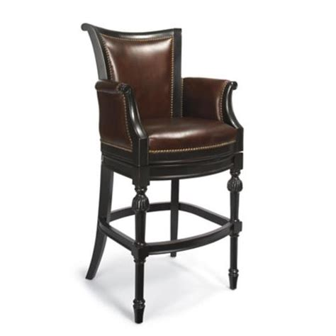 """Chesterfield Bar Height Bar Stool (30""""h Seat) Frontgate"""