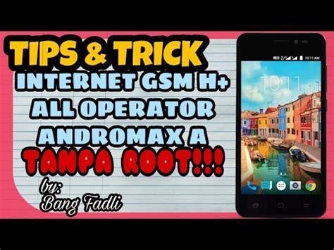 Persiapan sebelum mulai root : Cara Internet GSM H+ di Andromax A TANPA ROOT! - YouTube