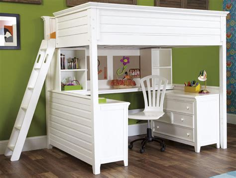 Desks For Adults by Loft Bed With Desks A Solution To Optimize The