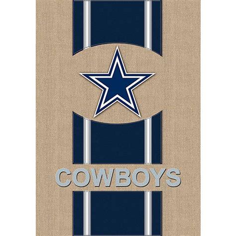 dallas cowboys home decor dallas cowboys burlap garden flag home decor home