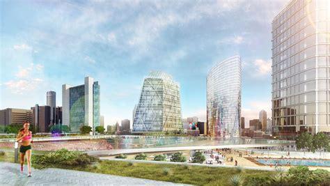 rossetti designs mls stadium  mixed  development