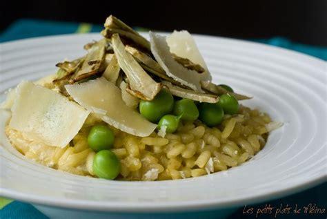 cuisiner artichaut poivrade recette risotto artichauts poivrade et petits pois 750g