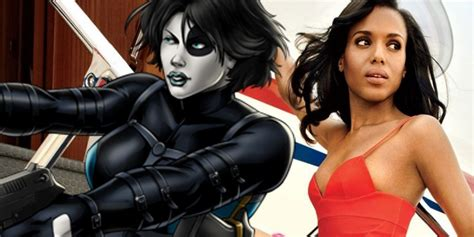 actress playing domino in deadpool 2 deadpool 2 kerry washington is reportedly the frontrunner