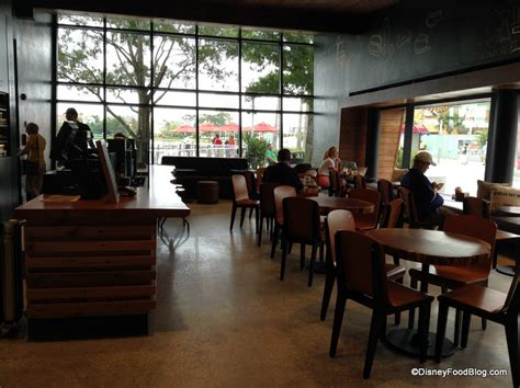 Now that many across the city have opened their patios, catching up with a friend or listening to some music over a cortado is possible again. Full Review: West Side Starbucks in Disney World's Downtown Disney