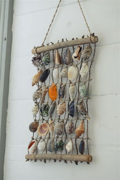 hanging shells decoration 37 best images about shell wall hangings on