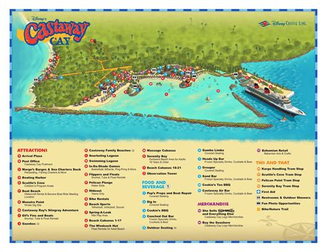 castaway cay information  disney cruise  blog