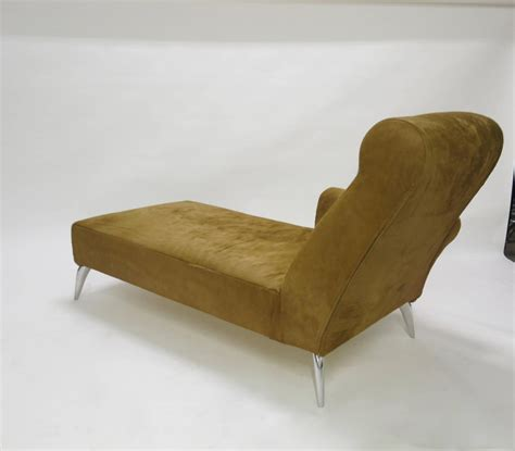 chaise philippe starck chaise longue in cowhide by philippe starck for driade