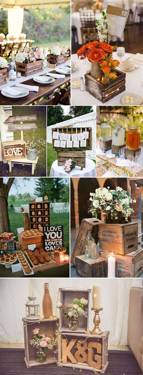 50 genius ideas to incorporate wood into your wedding party