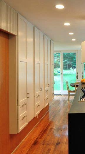 narrow depth pantrystorage hallway storage kitchen