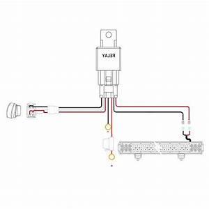 Single Led Wire Harness Kit Heavy Duty Wiring Diagram